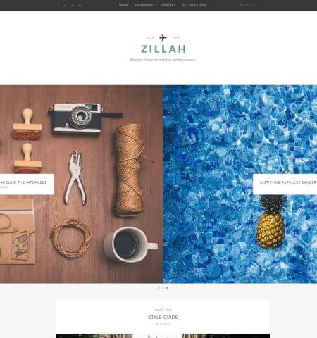 wordpress-zillah-theme-gratuit
