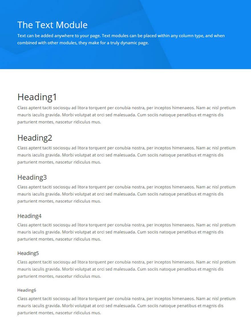 text-module-divi
