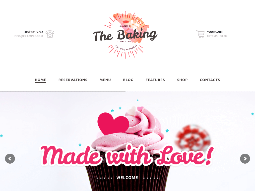 the-baking-wordpress-theme