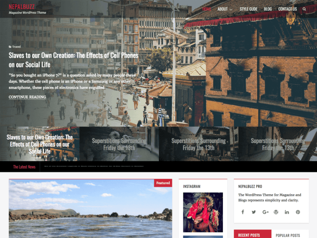 nepalbuzz-theme-wordpress