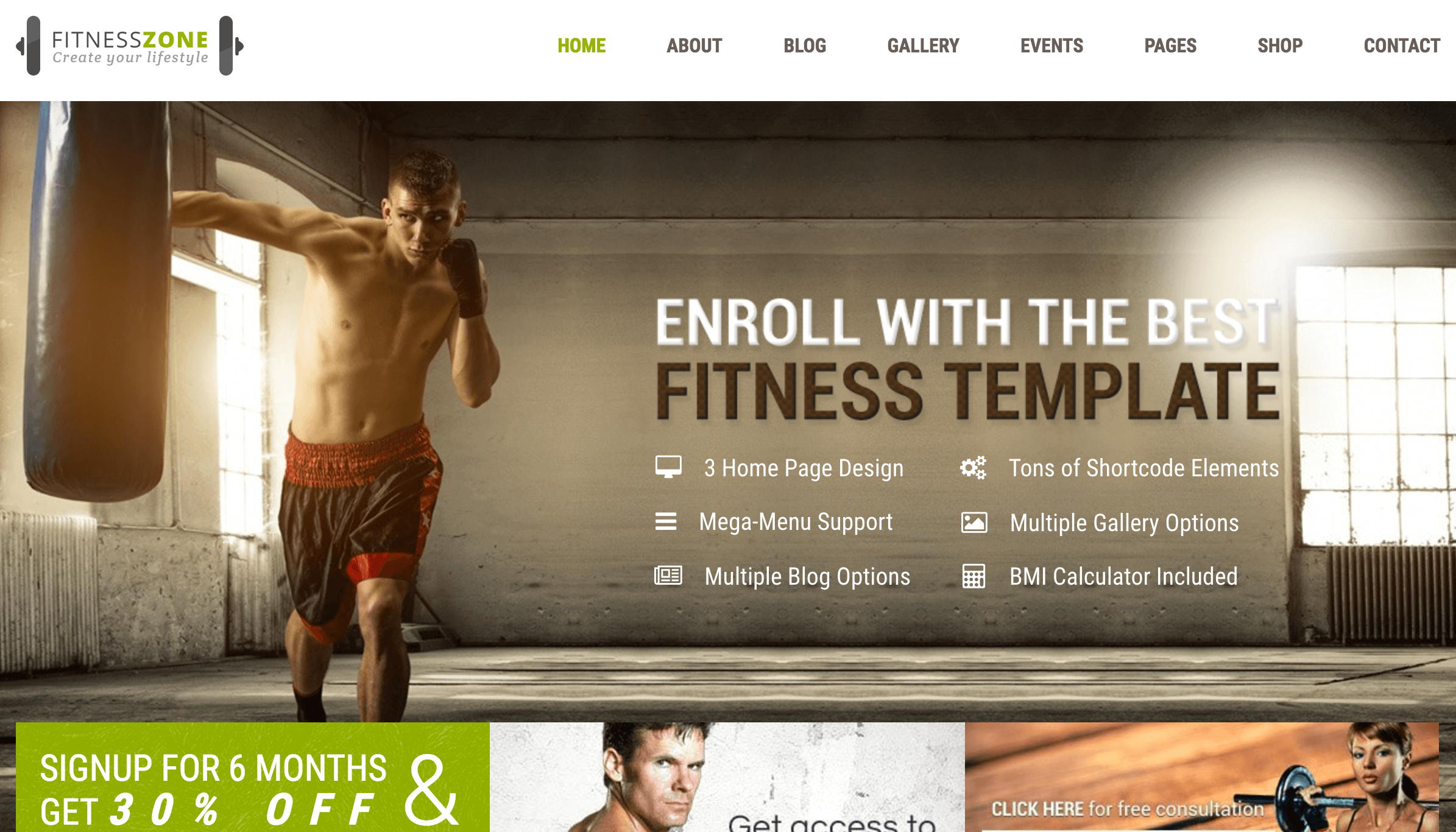 fitness-zone-wordpress-theme