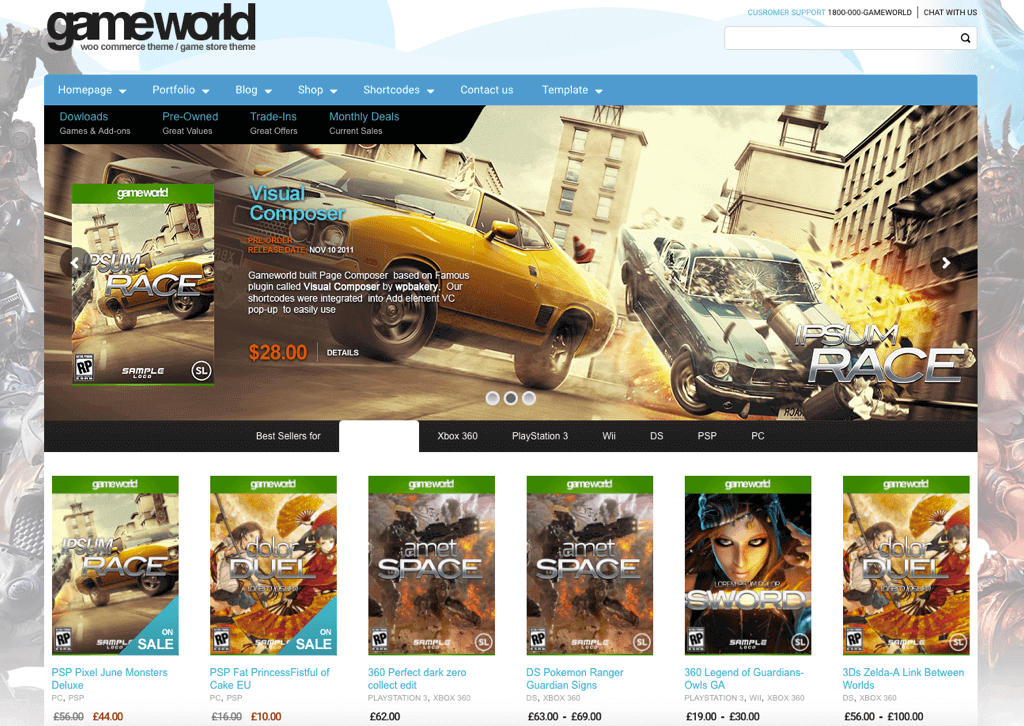 gameworld-wordpress-theme