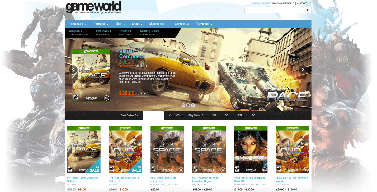 gameworld-wordpress-theme