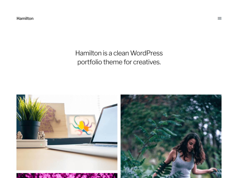 hamilton-theme-wordpress