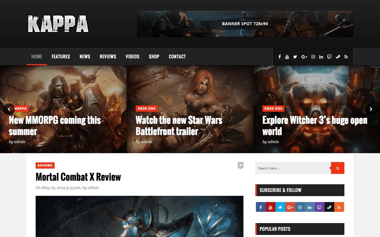 kappa-new-wordpress-theme