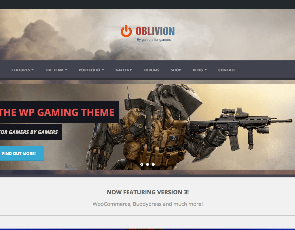 oblivion-new-wordpress-theme