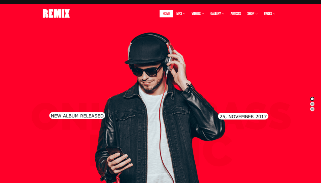 remix-wordpress-theme
