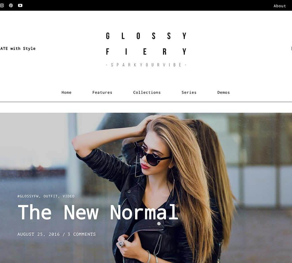 theme-wordpress-glossy