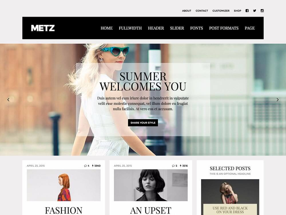 theme-wordpress-metz
