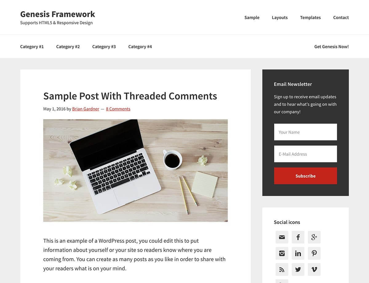 theme-wordpress-genesis