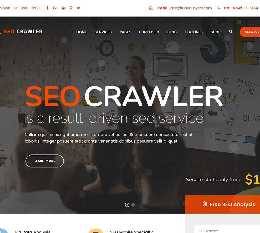 theme-wordpress-seo-wrawler