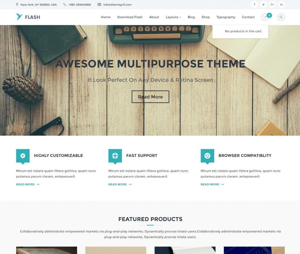 theme-wordpress-gratuit-flash