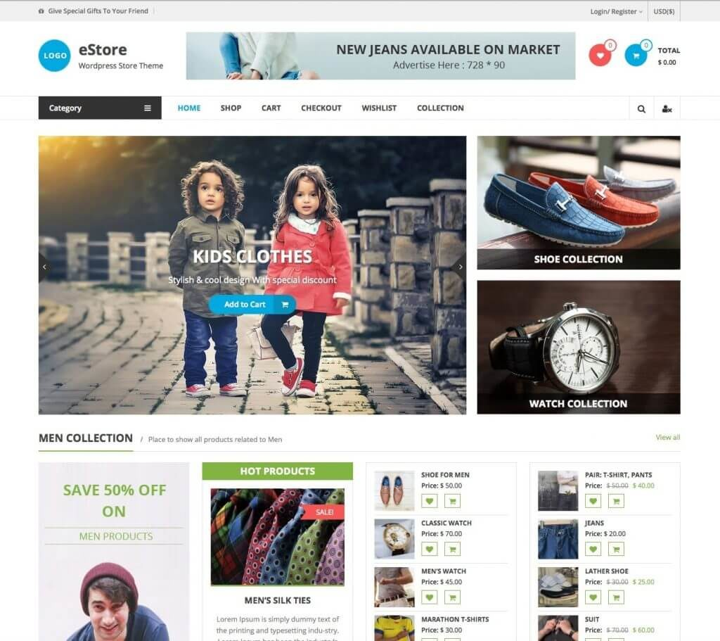 estore-theme-wordpress-gratuit