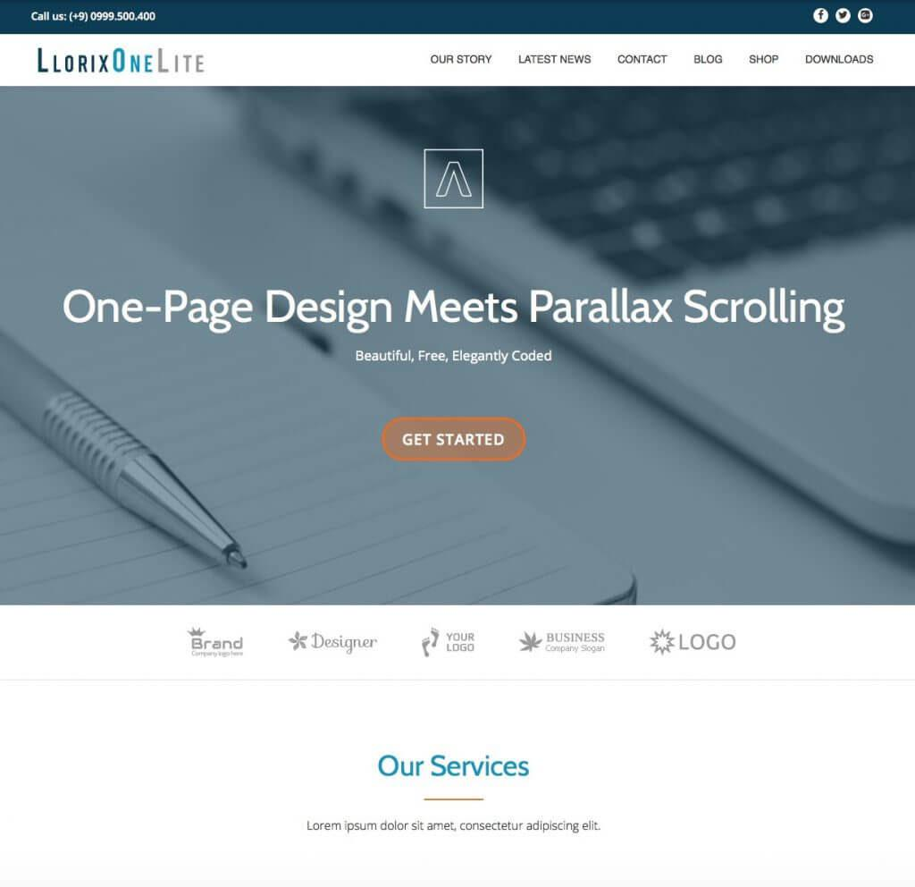 llorix-one-lite-theme-wp-gratuit