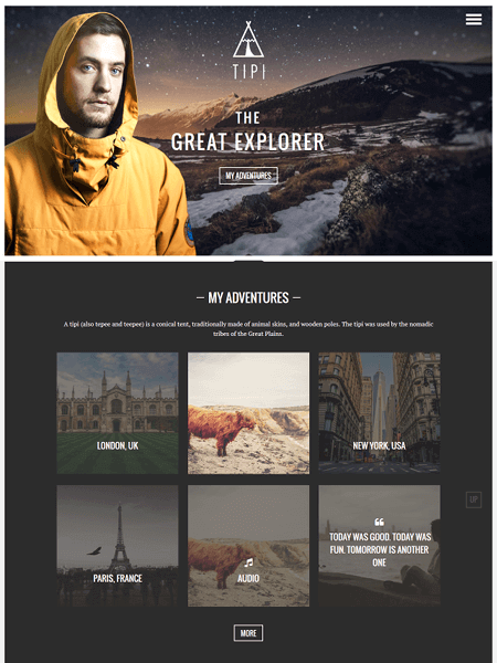 tipi-wordpress-theme