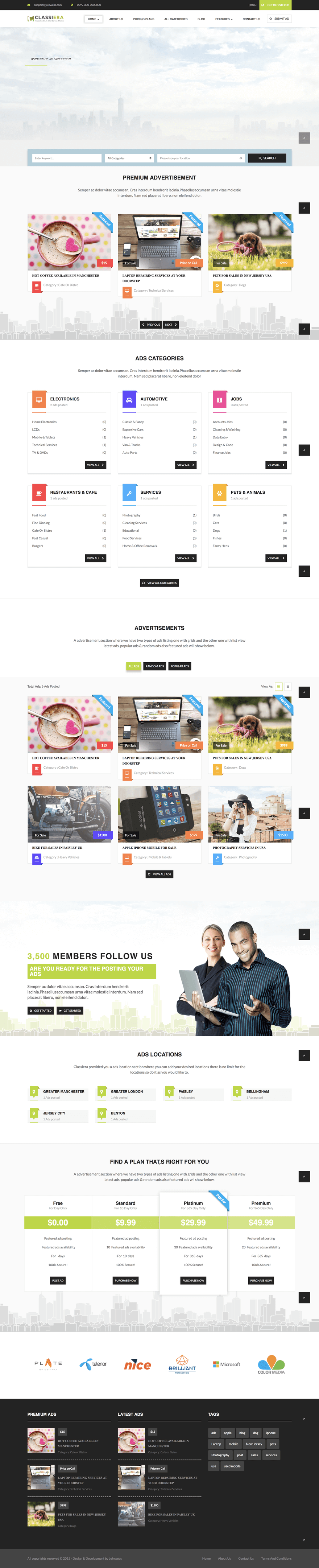 classiera-classified-wordpress-theme
