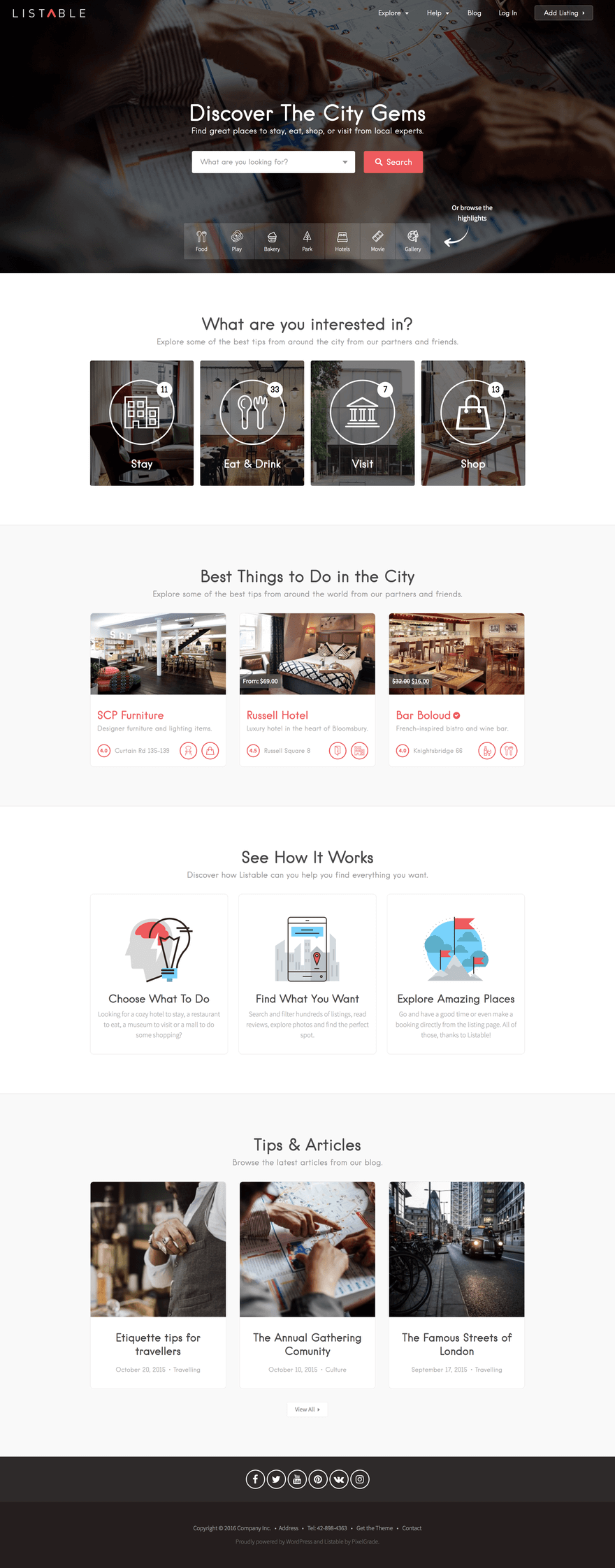 listable-wordpress-theme