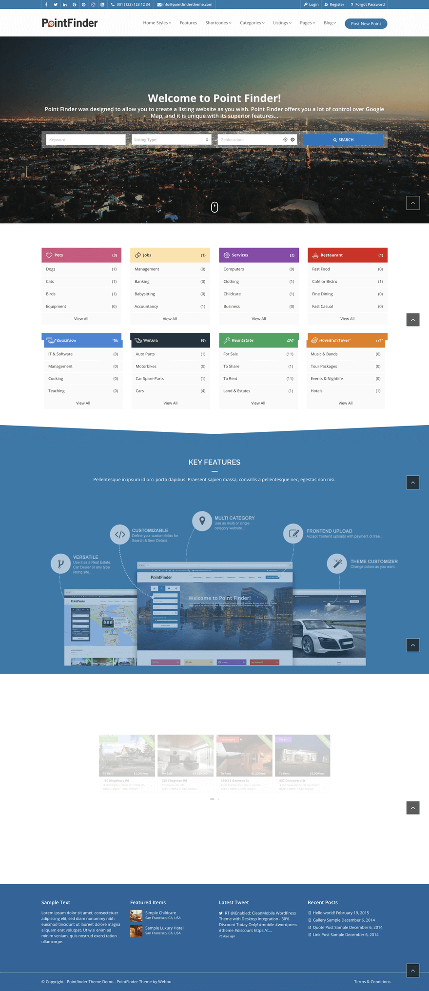 point-finder-wordpress-theme