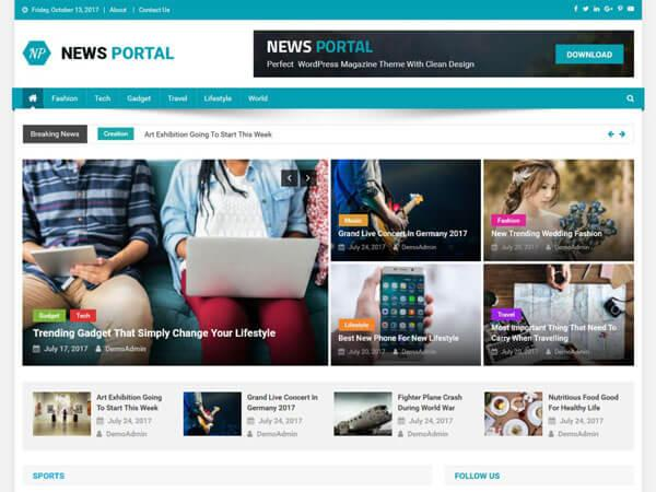 theme-wp-gratuit-news-portal