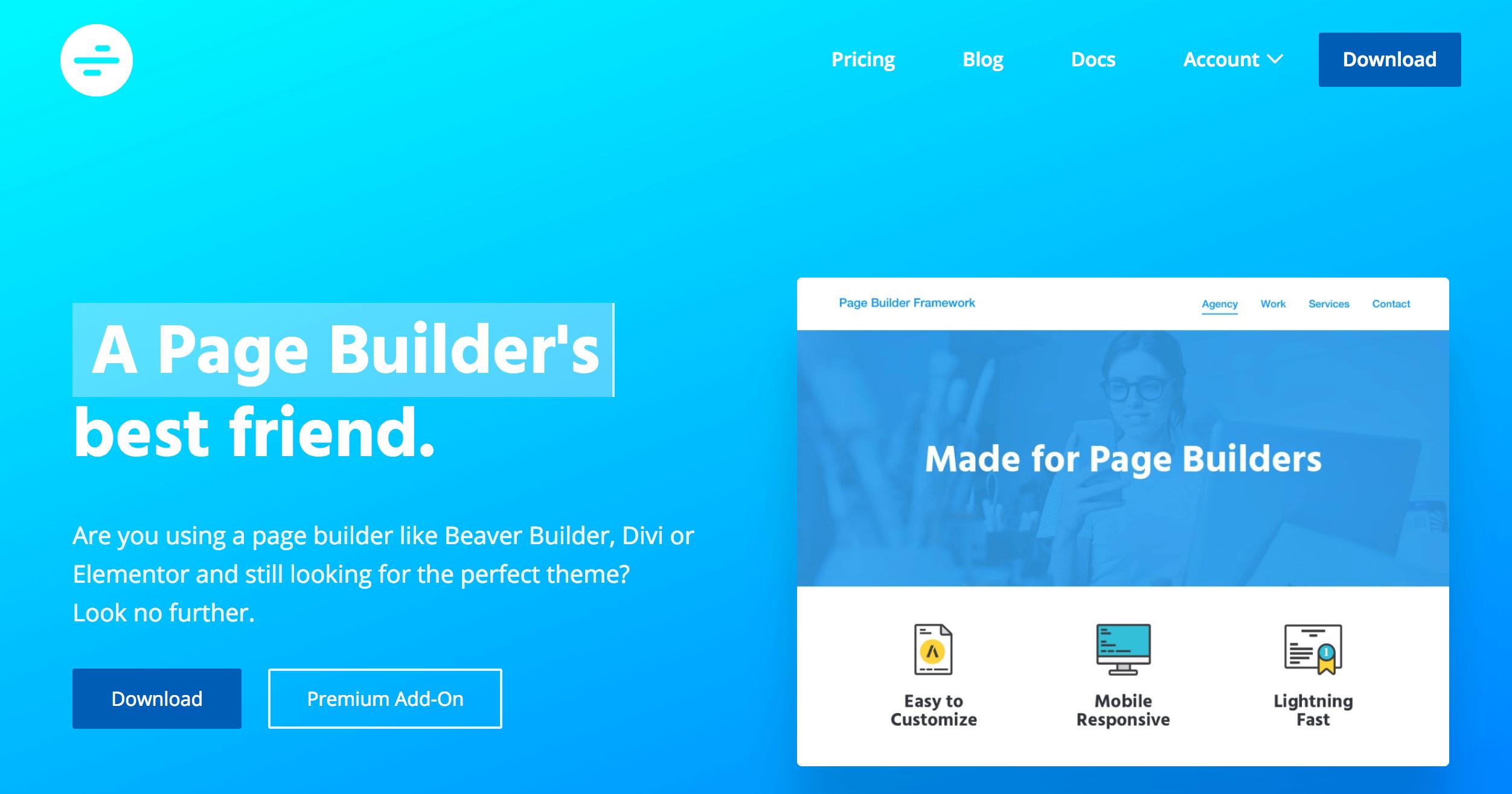 page-builder-framework