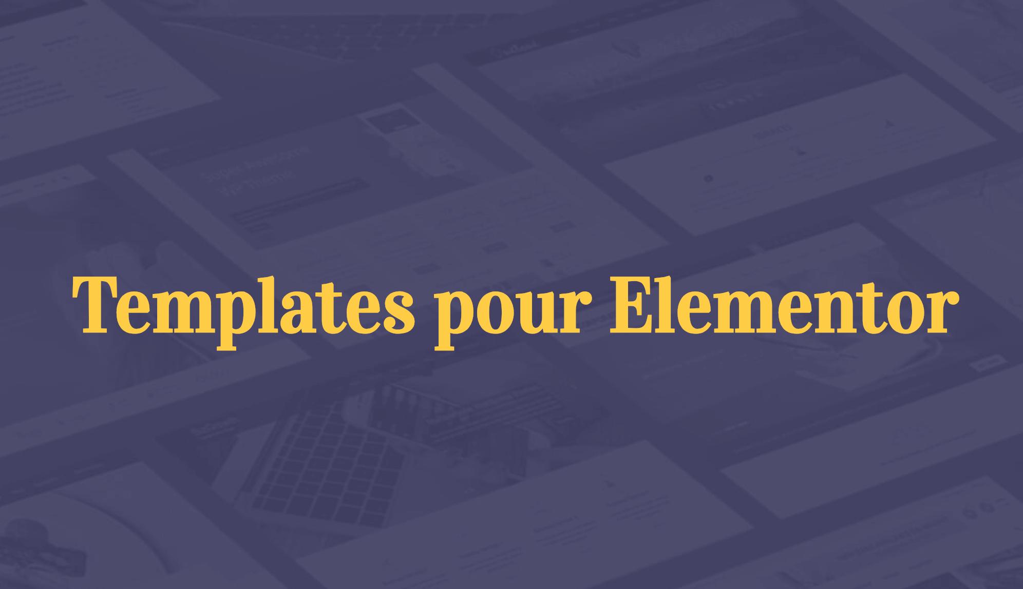 elementor-template