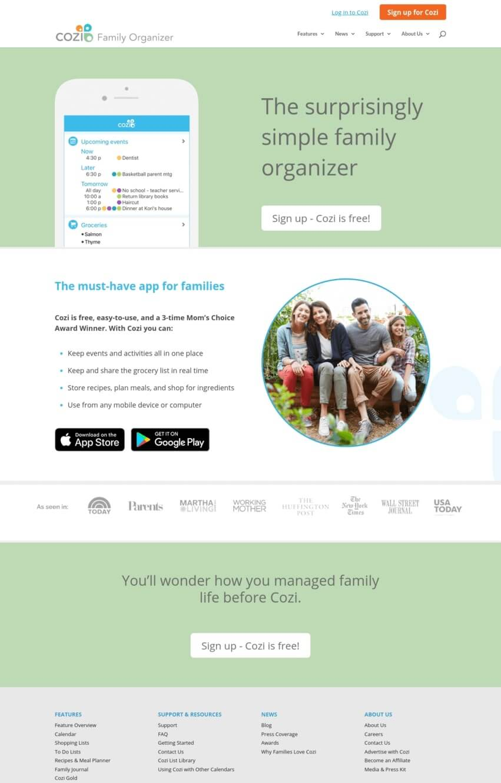 exemple-site-divi-application-cozi