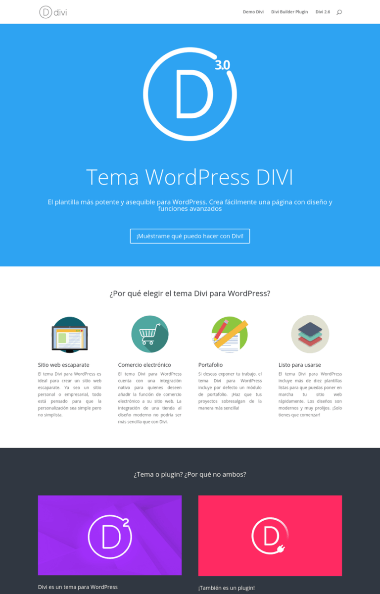 tema-wordpress-divi-espana