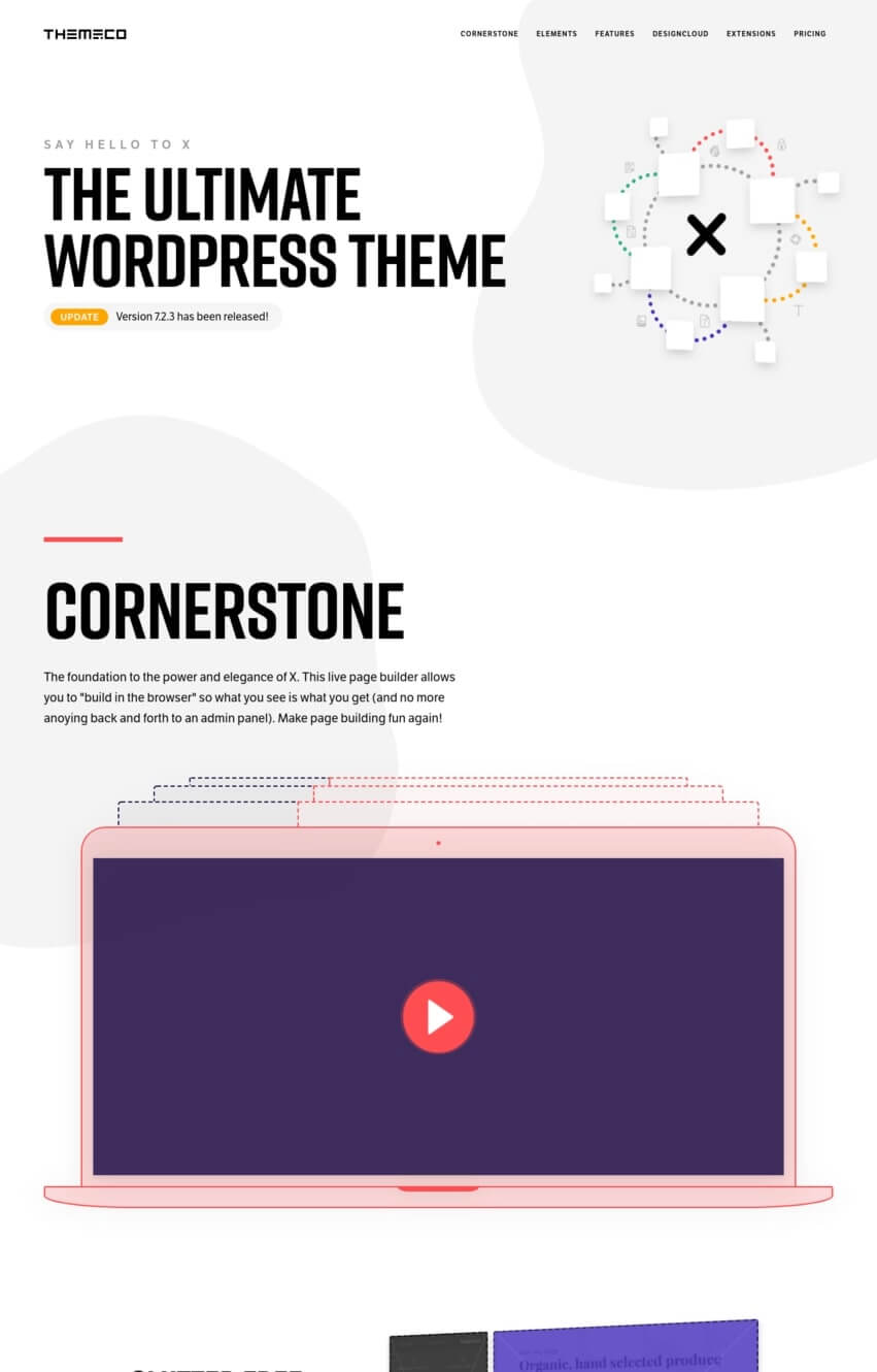 x-theme-wordpress-one-page