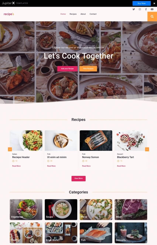 jupiter-theme-wordpress-fooding