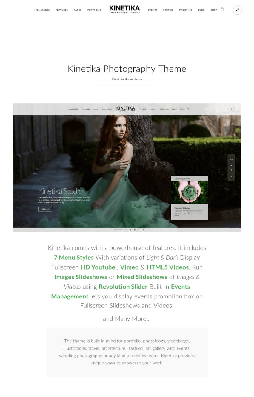 kinetika-theme-wordpress-photographie