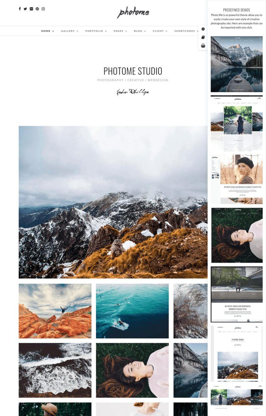 photome-theme-wordpress