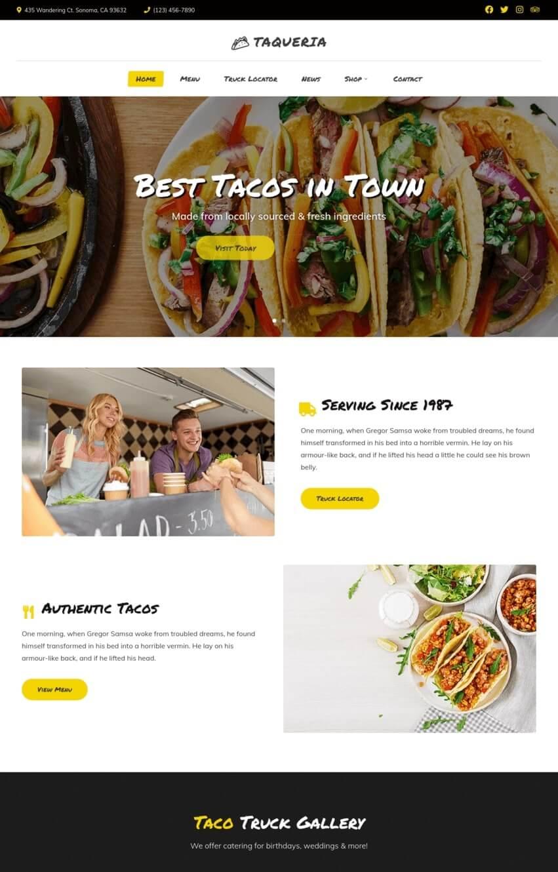 taqueria-theme-wordpress-fooding