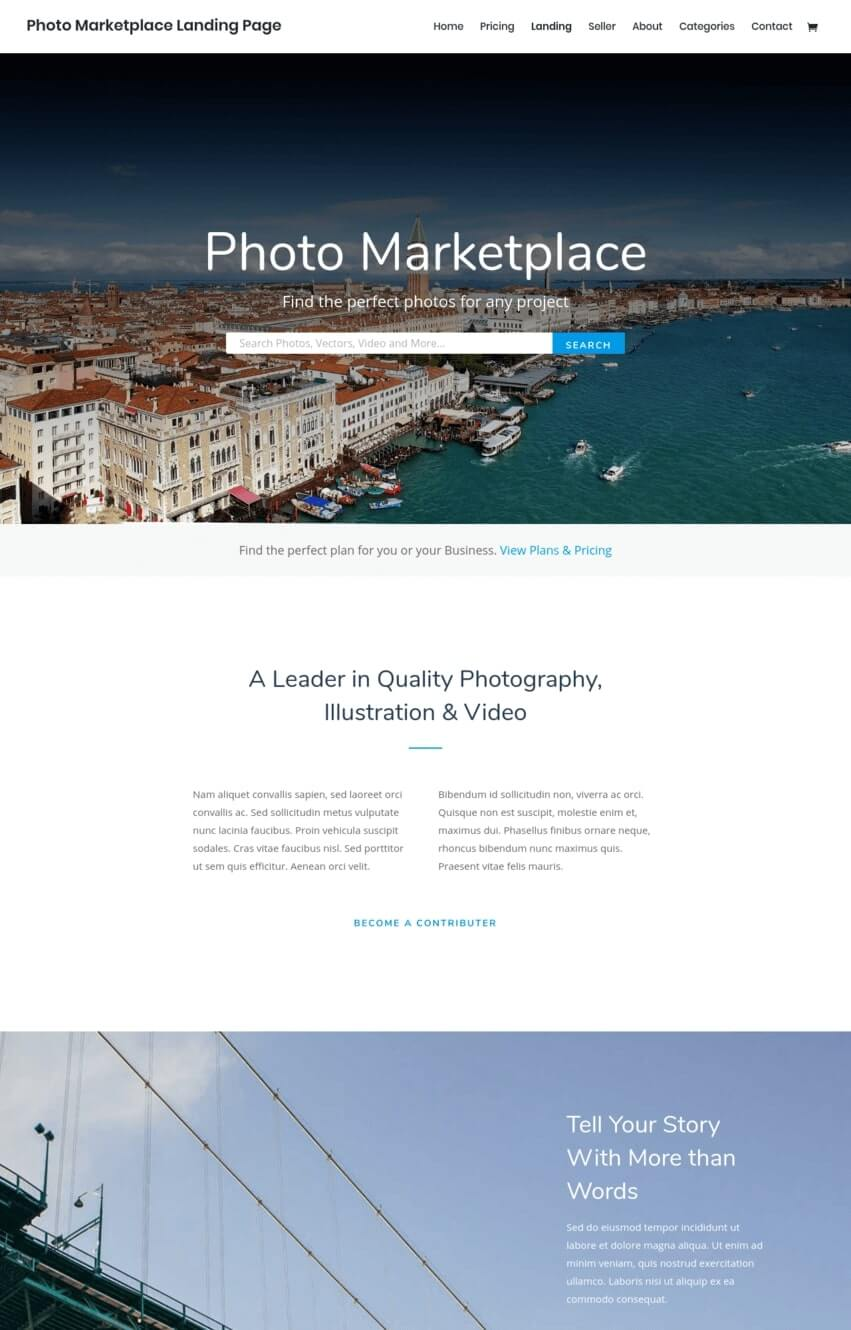 theme-wordpress-divi-photographie