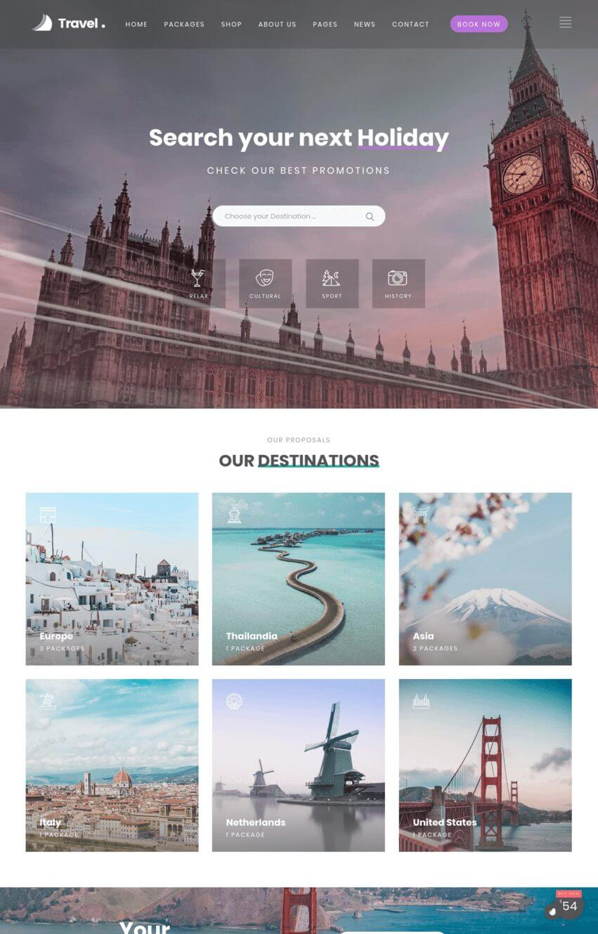 lovetravel-theme-wordpress-voyage