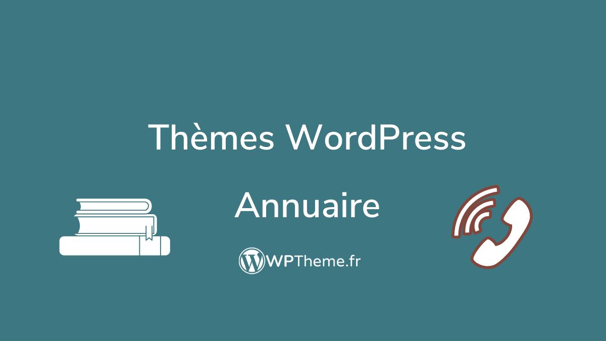 theme-wordpress-annuaire
