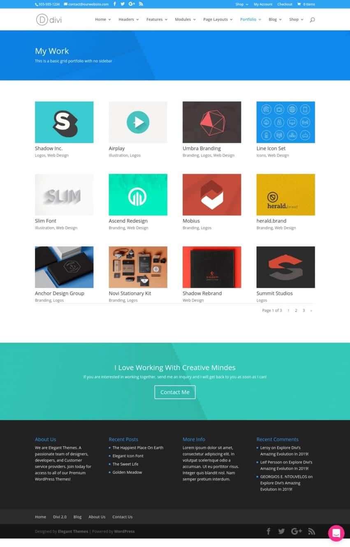 divi-theme-wordpress-portfolio