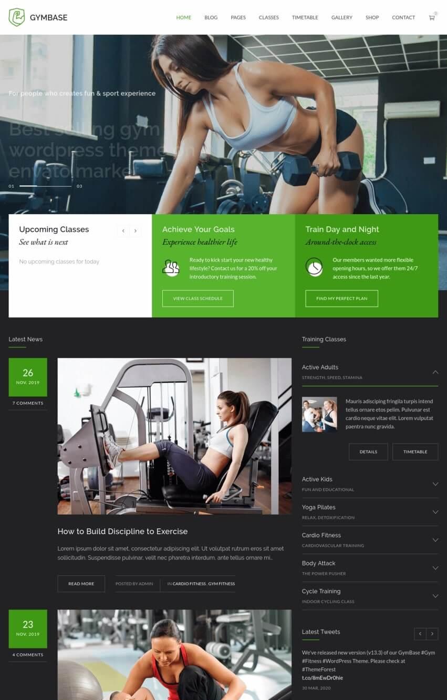 gymbase-wordpress-theme