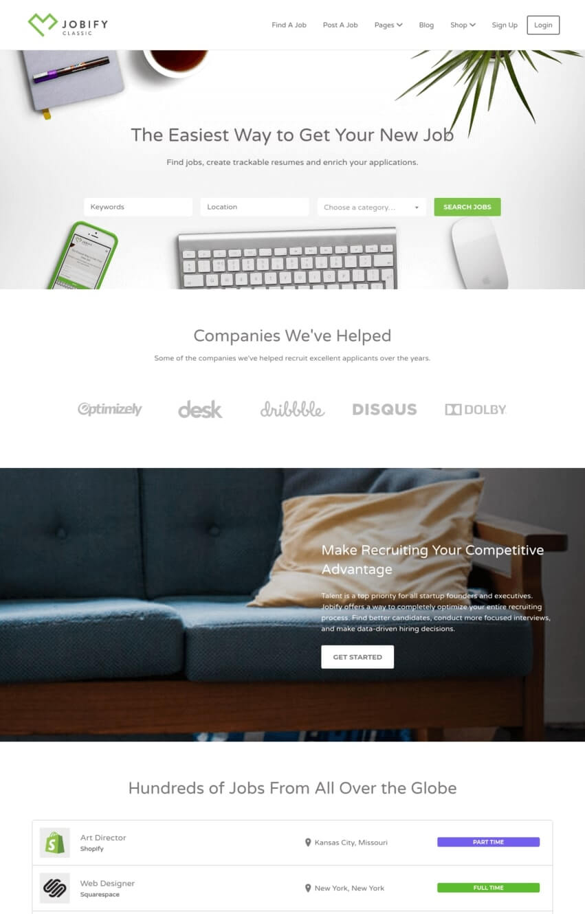 jobify-theme-wordpress-emploi