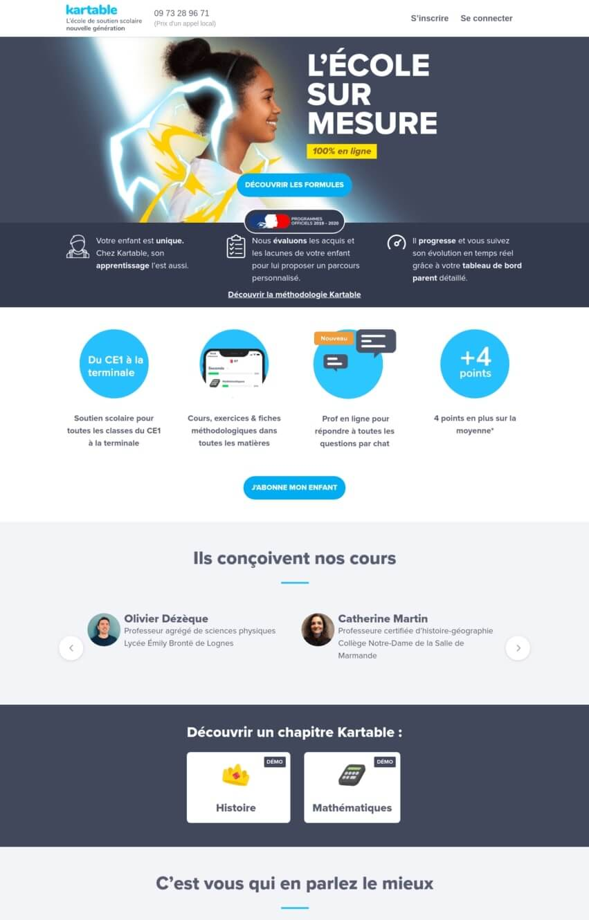 kartable-exemple-site-divi