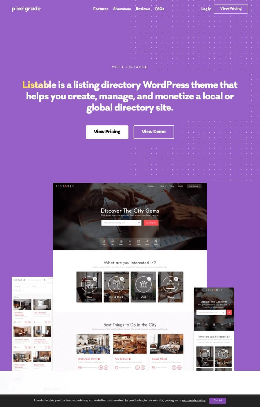 listable-theme-wordpress-annuaire