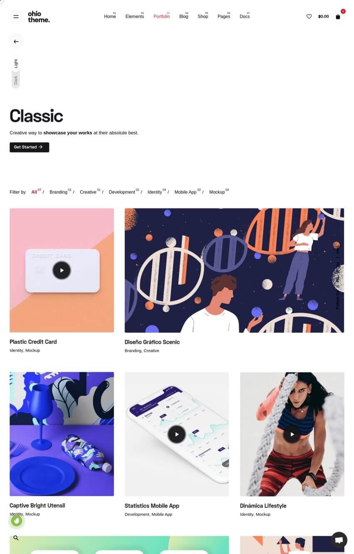 ohio-theme-wordpress-portfolio
