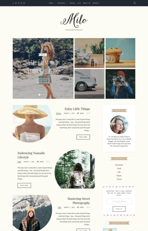 theblogger-theme-wordpress-blog-mode