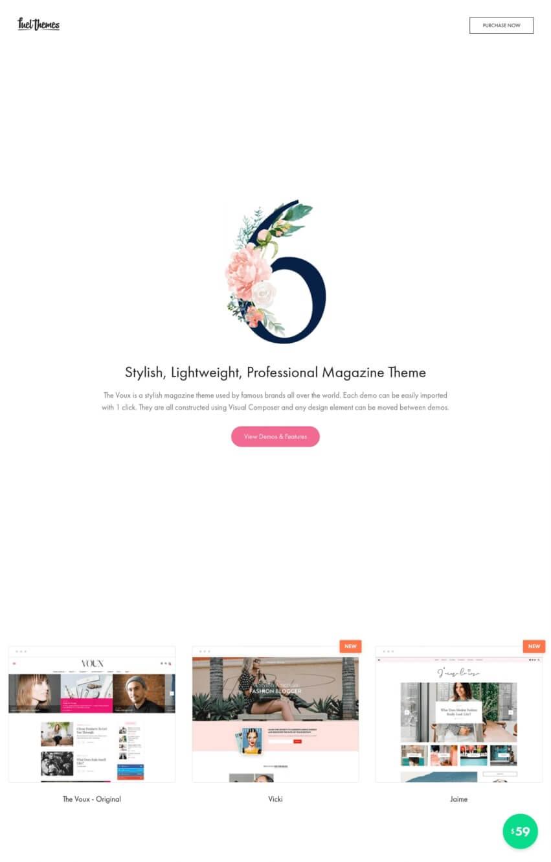 thevoux-theme-wordpress-blog-mode