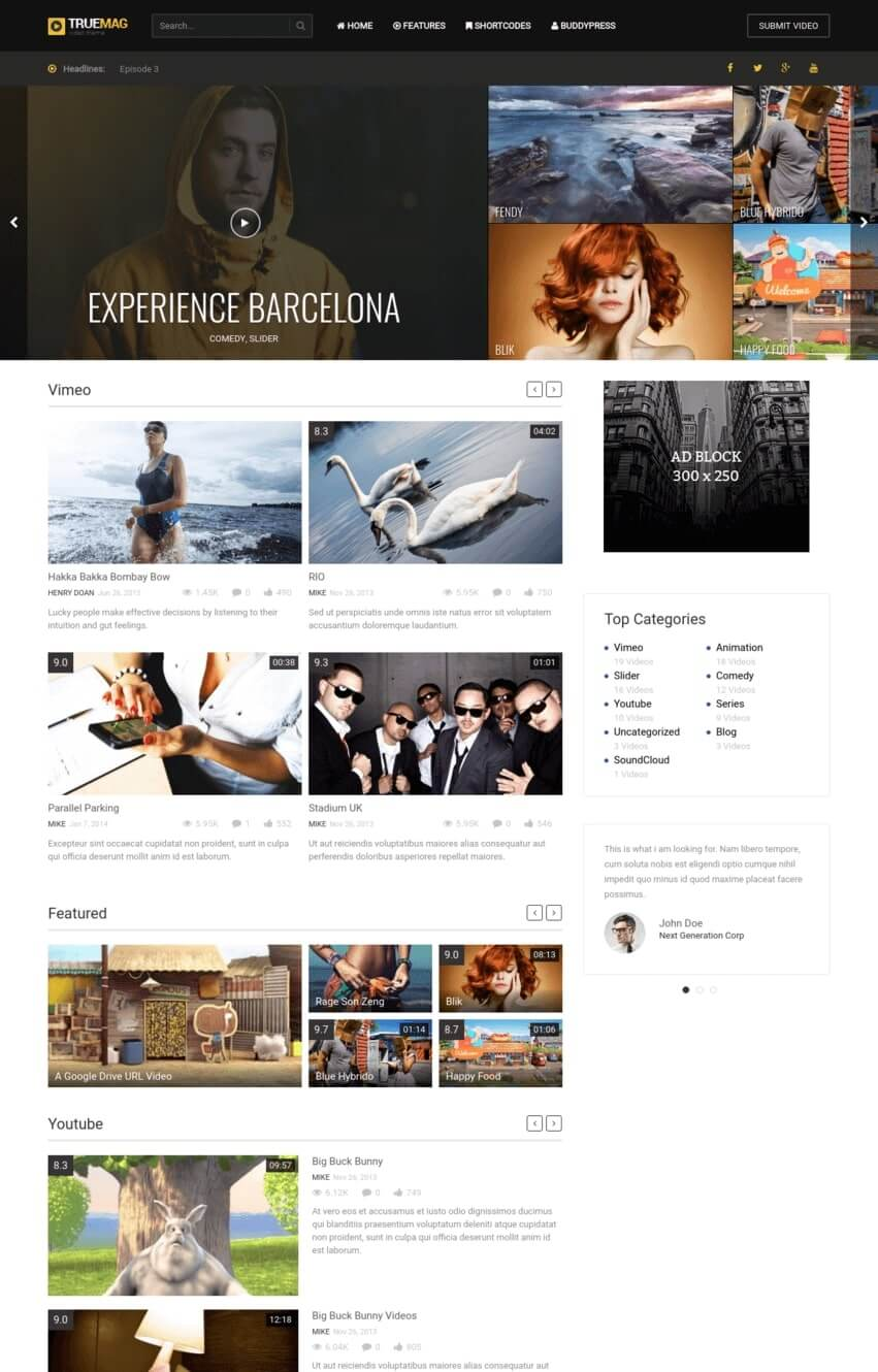 truemag-video-theme-wordpress