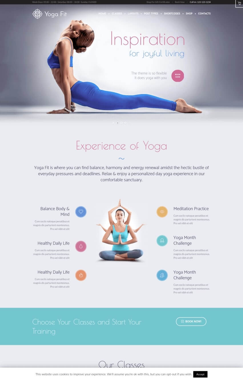 yoga-fit-theme-wordpress