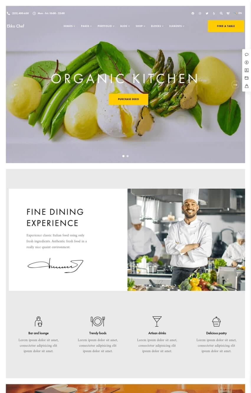 ekko-theme-wordpress-restaurant