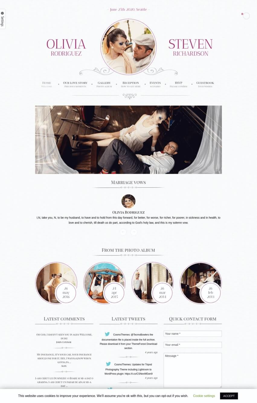 gameover-theme-wordpress-mariage