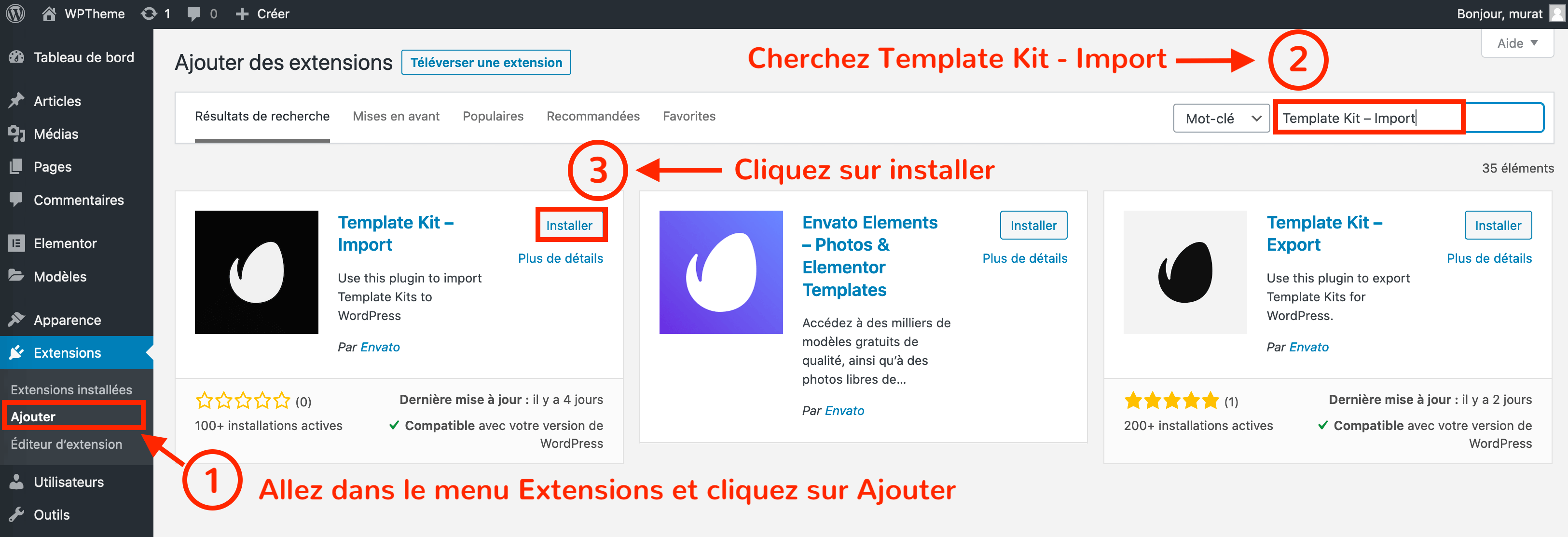 installer-plugin-template-kit-elementor