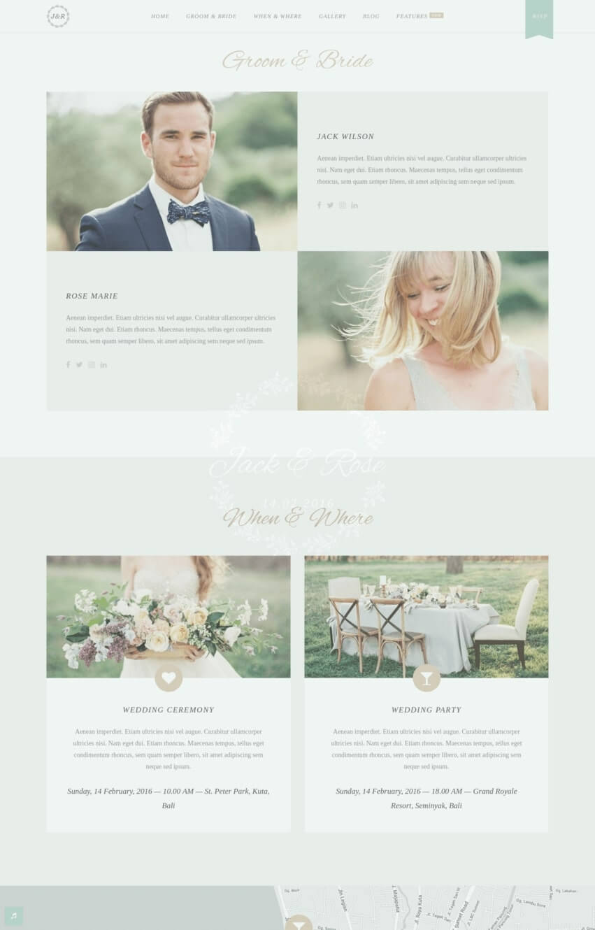 jack-rose-theme-wordpress-mariage