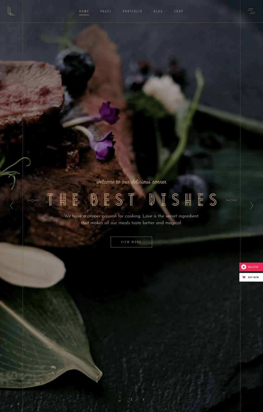 laurent-theme-wordpress-restaurant